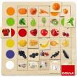 Incastri con associazione colori e alimenti Goula