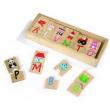 Puzzle alfabeto in legno Janod