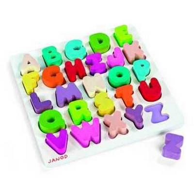 Alfabeto in legno Janod