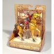 Centurione Romano a cavallo con lancia