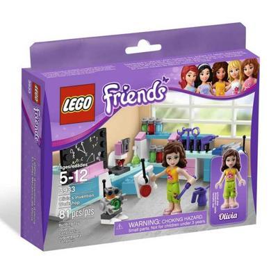 Il laboratorio delle invenzioni di Olivia - Lego 3933