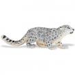 Leopardo bianco cm. 4,5