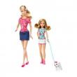 Barbie e le sue sorelline - Barbie e Stacie con cane