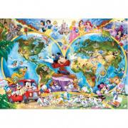 Mappamondo Disney 1000 pezzi