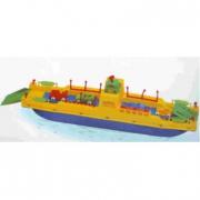 Nave traghetto grande galleggiante