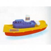 Nave rimorchiatore europa galleggiante