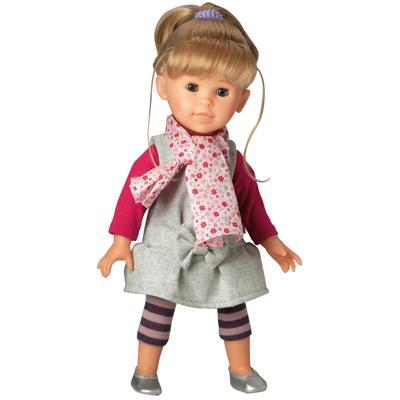 beige-Bordeau-Verde Bambole Moda Rose abitino 55 cm nuovo