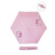 Ombrello pieghevole slim face light Hello Kitty