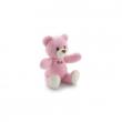 Orso cremino rosa cm. 26