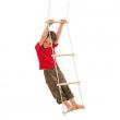 Scaletta in legno per altalena