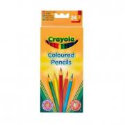 24 Matite colorate Crayola