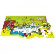 Pippi Calzelunghe Puzzle da pavimento 24 pezzi