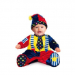 Costume Piccolo Clown 3/6 mesi