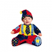 Costume Piccolo Clown 6/9 mesi