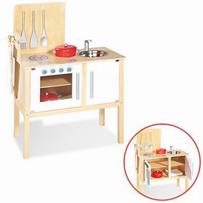 Cucina in legno per bambini jette giochi giocattoli - Cucina legno bambini ...