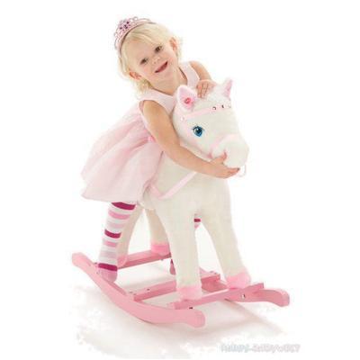 Cavallo A Dondolo Chicco Rosa.Knorrtoys