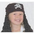 Parrucca Pirata bambino con bandana
