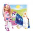 Bambola Nancy con il suo pony cm. 42