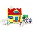 Pippi Calzelunghe Puzzle casa di Pippi in 3D