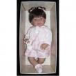 Bambola Real Nenuco mora vestito rosa cm. 45 Llorens
