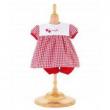 Completo vestito rosso ciliege Corolle cm. 30