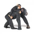 Scimpanzè con cucciolo cm. 7,60