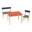 Kit Sedia + Panca + Tavolo in legno Roba Baumann