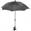 Ombrellino parasole nero per passeggino