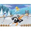 """Puzzle """"Looney Tunes a pattinaggio"""" 100 pezzi"""