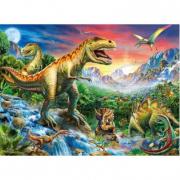 "Puzzle ""Dinosauri preistorici"" 100 pezzi"