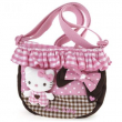 Tracolla con balza Pink Brown Hello Kitty