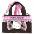 Tracolla Pink Brown Hello Kitty