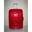 Valigia trolley Hello Kitty rossa