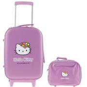 Valigia Trolley Aloha Purple Hello Kitty con Beauty