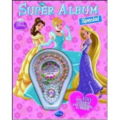 Disney Princess - Super album con gadget