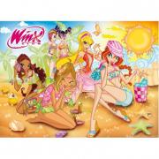 """Puzzle """"Winx"""" Alla spiaggia 200 pezzi"""
